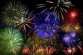 Full Color Fireworks Royalty Free Stock Image - 6902486