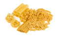 Variations Of Pasta Isolated Stock Images - 69001684