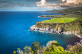 Green Island In The Atlantic Ocean, Sao Miguel, Azores, Portugal Stock Images - 69004434