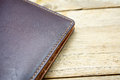 Brown Leather Wallet Royalty Free Stock Photo - 69071915