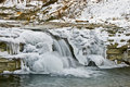The Frozen Falls. Royalty Free Stock Image - 6918846