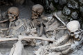 Skeletons In Boat Sheds, Herculaneum Archaeological Site, Campania, Italy Stock Images - 69109594