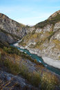 Shotover River At Skippers Canyon Road , Queenstown, New Zealand Stock Photo - 69126000
