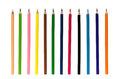 Colour Pencils Isolated Stock Images - 69126004