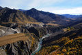 Skippers Canyon Road , Queenstown, New Zealand Royalty Free Stock Images - 69126149