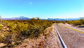 North Bush Highway Winding Through The Semi-desert Of Four Peaks Wilderness In Arizona Royalty Free Stock Images - 69151979