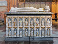 Sarcophagus Of Queen Margaret I In Roskilde Cathedral, Denmark Royalty Free Stock Photo - 69164105