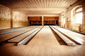 Abandoned Bowling Alley Stock Photos - 69165333