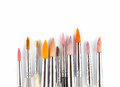 Colorful Watercolor Paintbrushes Stock Images - 69193784