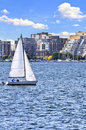 Sailing In Toronto Harbor Stock Photography - 6922502