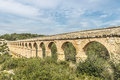 Roman Aqueduct In Tarragona, Spain Royalty Free Stock Images - 69203209