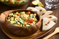 Chickpea Salad Royalty Free Stock Photography - 69222287