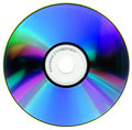 Compact Disk Isolated On White Stock Photography - 6932372