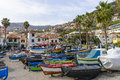 Port In Camara De Lobos Royalty Free Stock Image - 69317976