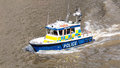 River Police Boat. Marine Police Force Stock Images - 69319314