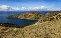 Panoramic View Of The Isla Del Sol (Island Of The Sun), Lake Titicaca, Bolivia Royalty Free Stock Photo - 69319375