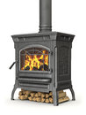 Wood Burning Stove Stock Photo - 69326110