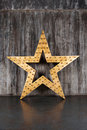 Big Star On The Background Of Concrete Wall Stock Image - 69339381