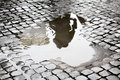 Street Puddle Royalty Free Stock Images - 69361469