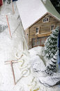 Snow-covered House Stock Image - 6940381