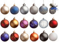 Set Of 18 Chrismas Balls Royalty Free Stock Photos - 6945408
