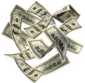 Money Blowing In The Wind Royalty Free Stock Photo - 69444445