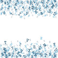 Scattered Alphabet Background  Stock Photography - 69454502