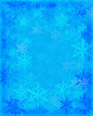 Snow Flakes Background Stock Images - 6951264
