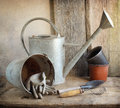 Old Garden Tools Stock Image - 69504641