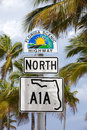 Florida S Scenic Highway Sign Royalty Free Stock Photography - 69538017