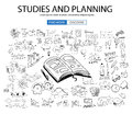 Educational And Learning Concept With Doodle Design Style :teaching Solution Stock Photo - 69540700