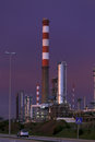 Oil Refinery At Dusk Stock Images - 69543004