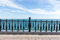 Mediterranean Balcony To The Sea Royalty Free Stock Photography - 69559047