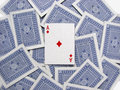 The Ace Of Diamonds On A Deck Of Playing Cards Stock Image - 69562261