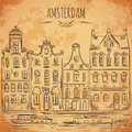 Amsterdam. Old Historic Buildings And Canal. Traditional Architecture Of Netherlands. Royalty Free Stock Image - 69564886