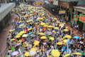 2015 Hong Kong Activists March Ahead Of Vote On Electoral Package Royalty Free Stock Photos - 69585728