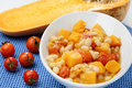 Beans Stew With Cherry Tomato And Pumpkin Royalty Free Stock Images - 6961859