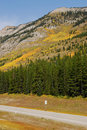 Roadside Mountains And Forests Stock Photography - 6965732