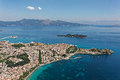 Corfu, Kerkyra, Aerial View Stock Images - 69620494