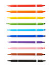 Felt-tip Pen Marker Isolated Royalty Free Stock Photography - 69628667