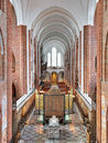 Interior Of Roskilde Cathedral, Denmark Royalty Free Stock Photography - 69654277