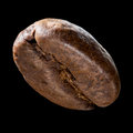 Coffee Bean Isolated On Black Background Royalty Free Stock Photography - 69657187