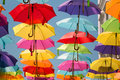 Colorful Umbrellas Royalty Free Stock Photos - 69682918