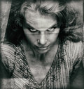 Vintage Portrait Of Scary Woman With Evil Face Stock Photography - 69682932