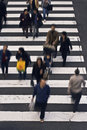 People Crossing The Street Royalty Free Stock Photography - 6970287