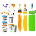 Buckets With Paint Stock Images - 6974354