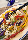 Colorful Vegetables Dish Stock Photography - 6979352