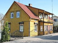 Old Yellow Home, Lithuania Royalty Free Stock Photo - 69739655