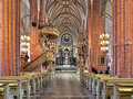 Interior Of Storkyrkan (The Great Church) In Stockholm, Sweden Royalty Free Stock Photos - 69745018