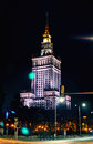 Warsaw, Poland - March 28, 2016: The Palace Of Culture And Science. Polish: Palac Kultury I Nauki, Also Abbreviated PKiN Royalty Free Stock Photos - 69749378